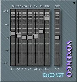 Voxengo EssEQ - Free EQ VST Plugin