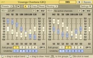 Voxengo Overtone GEQ - Free EQ VST Plugin