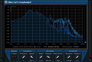 Blue Cat FreqAnalyst - Free VST Plugin