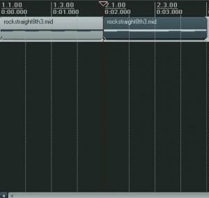 Editing Reaper: Splitting a track