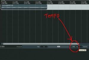 Change tempo in reaper