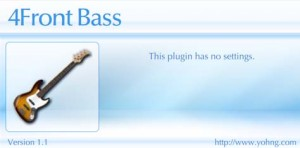 free vsti 4front bass