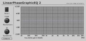 Linear Phase Graphic EQ 2