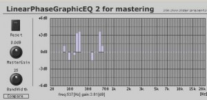 Free VST Plugin - Linear Phase Graphiceq 2(Mastering)