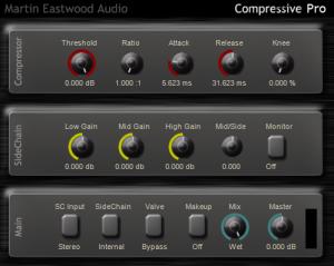 Martin Eastwood:Compressive free vst sidechain compression