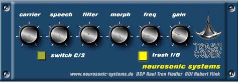 Free VST Plugin - Trashcoder - Vocoder - Untidy Music
