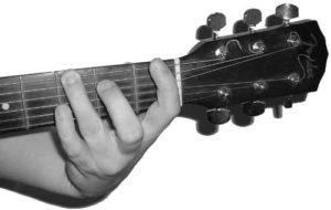 3rd Finger, 3rd Fret Bottom E