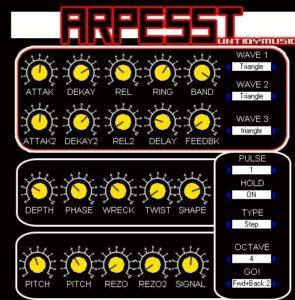 ARPESST:Free Synth/Arpegiator VST Instrument