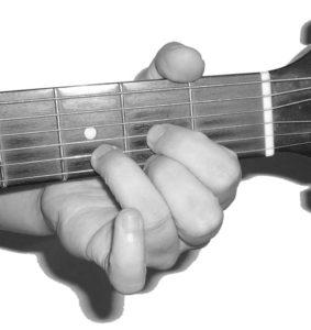 D Major Open Chord