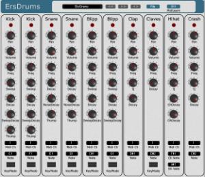Free VST Drums: ErsDrums