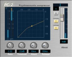 Free VST Compressor:PC2