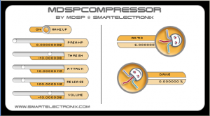 Free VST Plugins: Mdsp Compressor