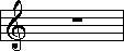 Key of C Treble Clef