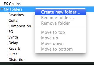 Create VST PLugin Folder Reaper