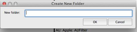 new folder reaper